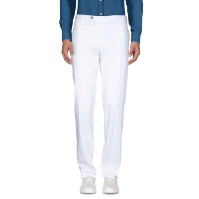 カナーリ CANALI パンツ ホワイト 60 97% コットン 3% ポリウレタン パンツ