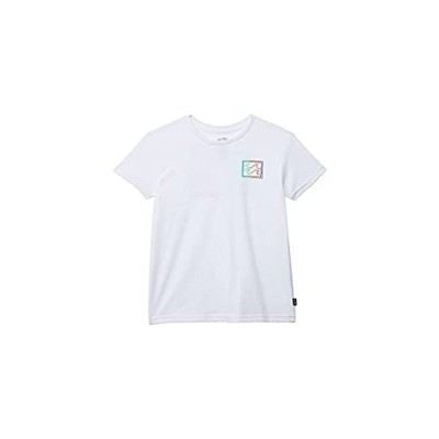 Billabong Boys' Short Sleeve Graphic Tee, White Crayon Wave, XXS/2T 好評販売中