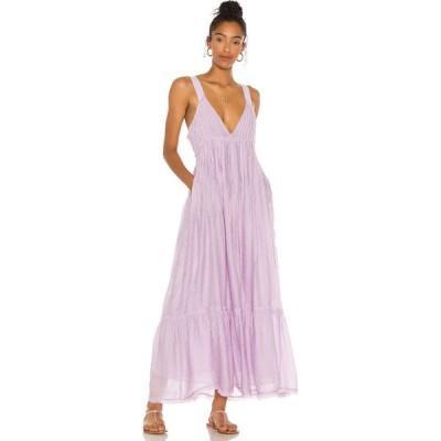 フリーピープル Free People レディース ワンピース マキシ丈 ワンピース・ドレス Frankie Pintuck Maxi Dress Lavender