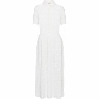 ガブリエラ ハースト Gabriela Hearst レディース ワンピース ワンピース・ドレス Cate merino wool shirt dress Ivory