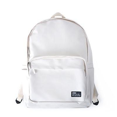 [BUBILIAN]防水バックパック - Cream /韓国の街ブランド/韓国と日本のベストセラーリュックサック/ベーシックリュックサック/スーツケース/学生かばん/都市トレンディーリュックサック