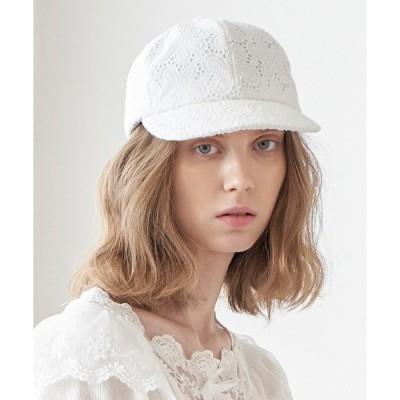帽子 キャップ 【HATSTORY 】フローラルレイヤー ボールキャップ / BALL CAP - FLORAL LAYER