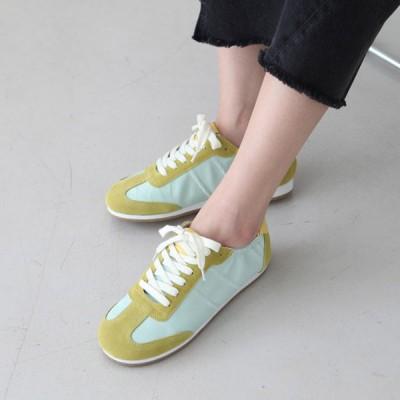 スニーカー レディースシューズ 牛革 黒 黄色 白 ブラック イエロー ホワイト フラット ぺたんこ ペタンコ シンプル スリッポン カジュアル 靴 婦人靴