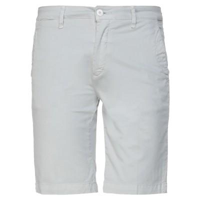 LIU •JO MAN バミューダパンツ ライトグレー 30 コットン 97% / ポリウレタン 3% バミューダパンツ