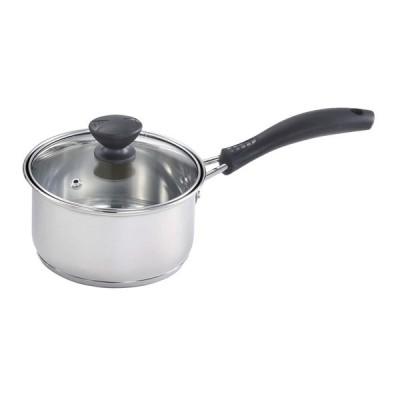 ベストコ ND-5991 [プリオール 片手鍋 14cm ガラス蓋付] 調理器具