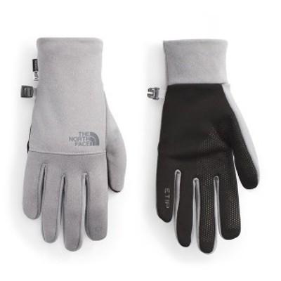 ノースフェイス メンズ 手袋 アクセサリー The North Face Etip Recycled Gloves TNF Medium Grey Heather