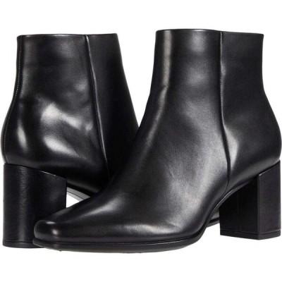 エコー ECCO レディース ブーツ ショートブーツ シューズ・靴 Shape 60 Squared Ankle Bootie Black