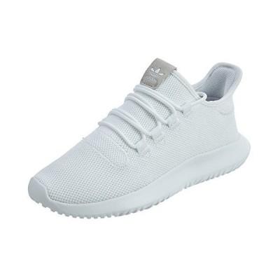 adidas Originals Men's Tubular Dusk Running Shoe, White/Black/White, 8.5 D(M) US