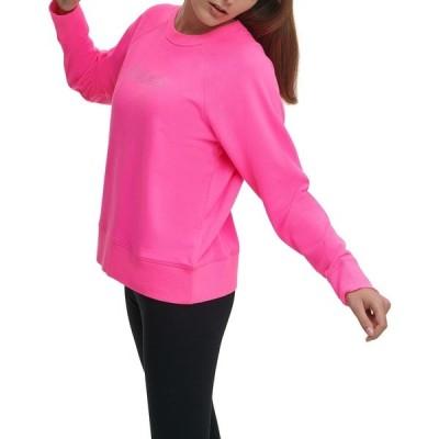 ダナ キャラン ニューヨーク パーカー・スウェットシャツ アウター レディース Sport Sweatshirt Laser Pink