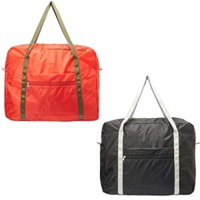 【新品】TVで話題の洗える 大型 お買い物 ボストンバッグ キャリー オン 旅行用 バッグ 2個セット 6個セット 折りたたみ 大容量 40L 軽量