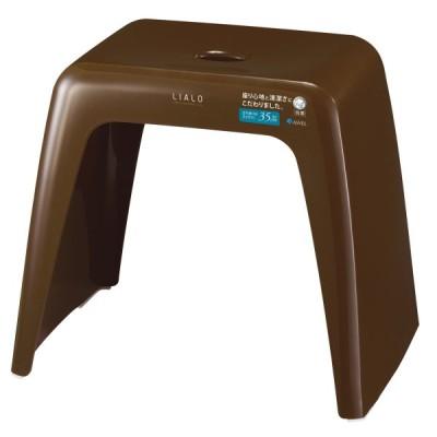 風呂椅子 リアロ 高さ35cm ブラウン ( 風呂 イス バスチェア )
