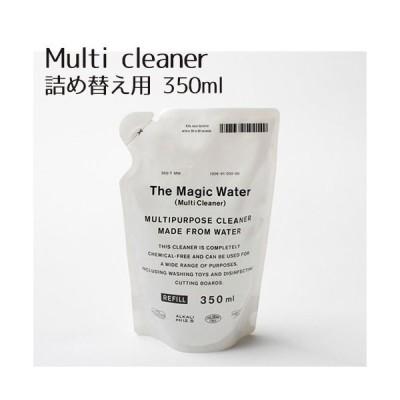 THE マジックウォーター マルチクリーナー詰め替え用 350ml 多目的クリーナー 油汚れ アルカリ電解水 万能クリーナー