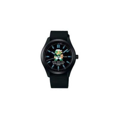 スーパーマリオ 腕時計 メンズ レディース セイコー アルバ SEIKO ALBA×SUPER MARIO コラボレーション ウオッチ アクティブ マリオ ACCK 正規品