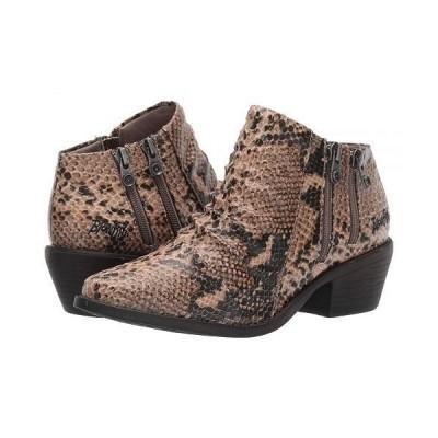 Blowfish ブローフィッシュ レディース 女性用 シューズ 靴 ブーツ アンクルブーツ ショート Wander - Natural Medusas Water PU