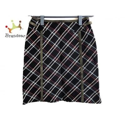 オールドイングランド OLD ENGLAND スカート サイズ36 S レディース ネイビー×レッド×ベージュ     スペシャル特価 20200426