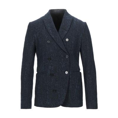 エンポリオ アルマーニ EMPORIO ARMANI テーラードジャケット ダークブルー 48 バージンウール 73% / ナイロン 14% / シ