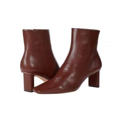 Alexandre Birman レディース 女性用 シューズ 靴 ブーツ アンクル ショートブーツ Square Bootie 50 - Rum Nappa Kiss