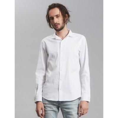 5351プール・オム(5351POUR LES HOMMES)/ストレッチワンピースカラーシャツ