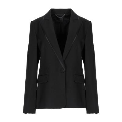 ステラ マッカートニー STELLA McCARTNEY テーラードジャケット ブラック 42 ウール 100% / ポリエステル / シルク テー