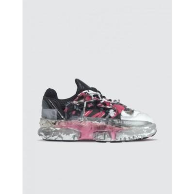メゾン マルジェラ Maison Margiela レディース スニーカー シューズ・靴 Fusion Sneakers Black/Pink Fluo