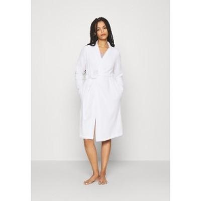 アンナフィールド レディース ワンピース トップス TERRY BATHROBE  - Dressing gown - white white