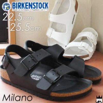 送料無料 ビルケンシュトック BIRKENSTOCK ミラノ Milano メンズ レディース サンダル バックバンド 1008074 1008075 コンフォート 黒 ブ
