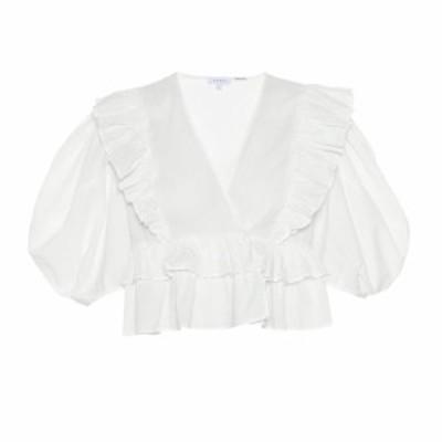 ロードリゾート RHODE レディース トップス Elodie cotton top white dazzle