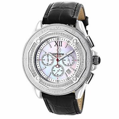 腕時計 ラックスマン メンズ Mens Diamond Bezel Watch by Centorum Falcon 0.55ct