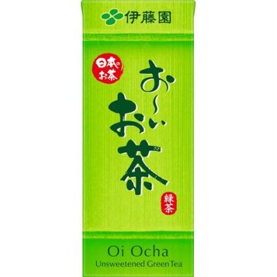 伊藤園 おーいお茶 緑茶 紙パック (250ml*24本入)