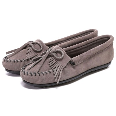 ミネトンカ MINNETONKA Kilty Moc(GREY)