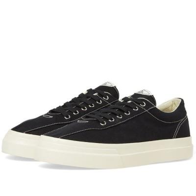 エス ダブリュー シー Stepney Workers Club メンズ スニーカー シューズ・靴 Dellow Canvas Sneaker Black