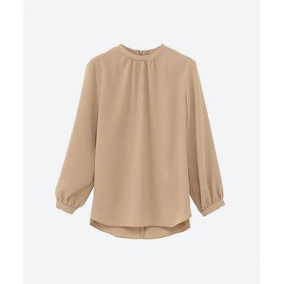 <Theory(Women/大きいサイズ)/セオリー> PRIME GGT STAND COLLOR GA beige(300)【三越伊勢丹/公式】