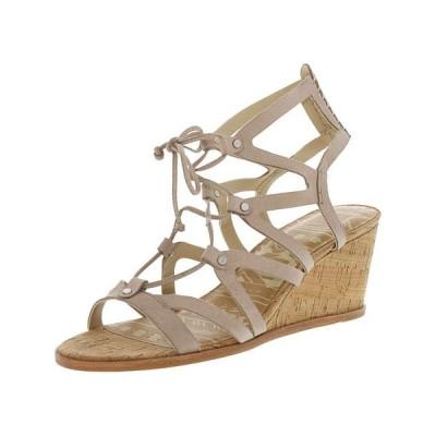 サンダル ドルチェヴィータ Dolce Vita Women's Lynnie Nubuck Leather Wedged Sandal