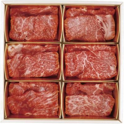 6大ブランド和牛食べ比べ すき焼き・しゃぶしゃぶ用 7001287 【2021 お中元 限定】 【直送品】 送料無料