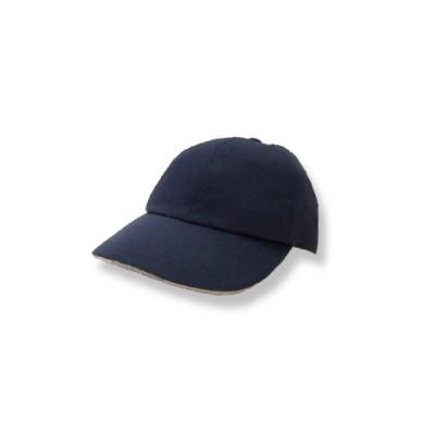LEDライト付き帽子 TERUBO ネイビー ライト付きデザイン帽子 ハンズフリーライト 高照度LEDライト