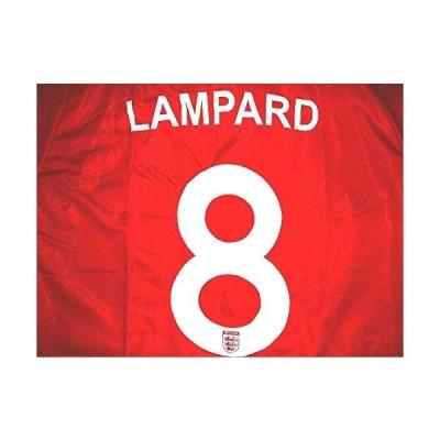 子供用 K061 イングランドAWAY LAMPARD* ランパード 赤 14 ゲームシャツ パンツ付 ジュニア ユニフォーム