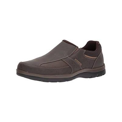 Rockport Men's Get Your Kicks Slip-On Brown Loafer 9 M (D)-9 M