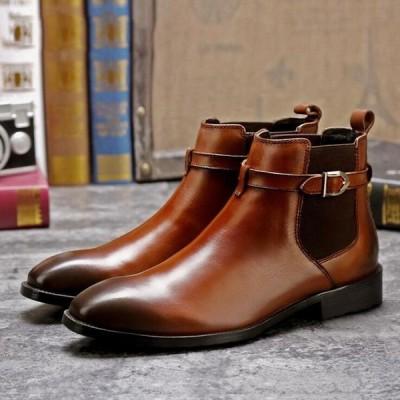 本革 メンズブーツ メンズ ハンドメイドブーツ エンジニアブーツ ショートブーツ ビジネスシューズ 革靴 メンズシューズ 紳士靴 レザー 新作