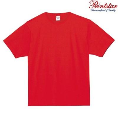 メンズ Tシャツ 半袖 スーパーヘビー 5.8オンス 無地 レッド M サイズ 148-HVT