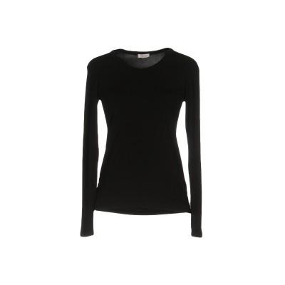 ROSSOPURO T シャツ ブラック XS レーヨン 96% / ポリウレタン 4% T シャツ