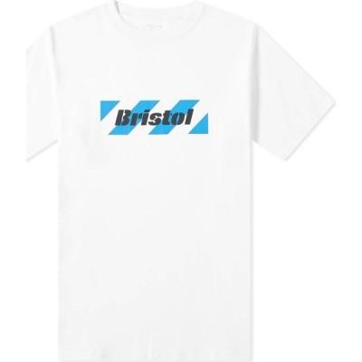 エフシーレアルブリストル F.C. Real Bristol メンズ Tシャツ ロゴTシャツ トップス Box Logo Tee White
