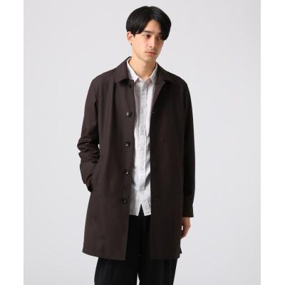 tk.TAKEO KIKUCHI(ティーケー タケオ キクチ) ◆千鳥格子ステンカラーコート
