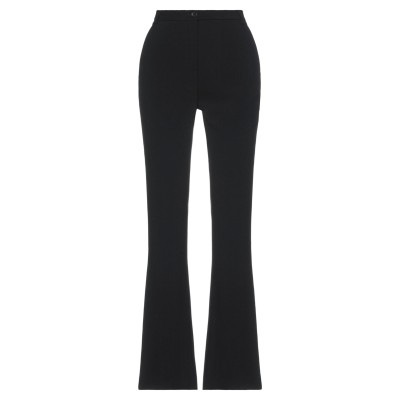 アスペジ ASPESI パンツ ブラック 44 ポリエステル 100% パンツ