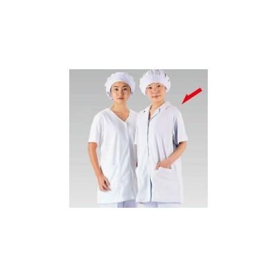 テクノファインコート 女子襟有り半袖白衣 NR-432 L