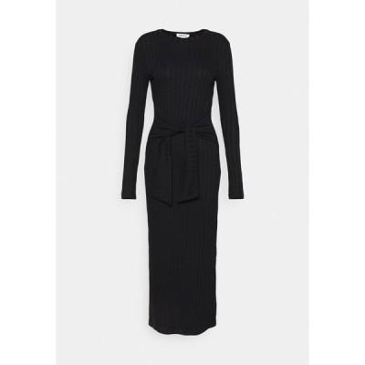 エディテッド ワンピース レディース トップス IRIS DRESS - Jumper dress - schwarz