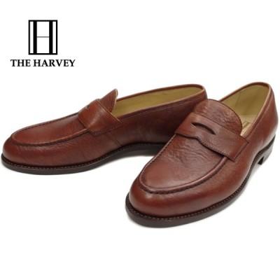 【SALE:50%OFF】THE HARVEY ザ ハーヴィー CAMBRIDGE ケンブリッジ ブラウンショルダー ローファー メンズ ビジネスシューズ