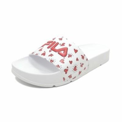 サンダル フィラ FILA ドリフターV-DAY ホワイト/レッド F0511-1041 レディース シューズ 靴 20SP