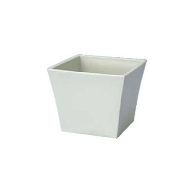 HOSHINO カゴ シンプル KG−115 アイボリー 343213 10個 花器 花瓶 プラスチック アクリル花器