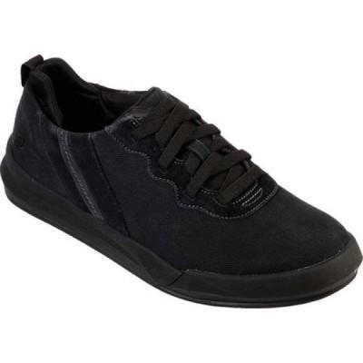 スケッチャーズ Skechers メンズ スニーカー シューズ・靴 Relaxed Fit Norsen Valo Sneaker Black/Black