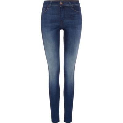 サルサ Salsa レディース ジーンズ・デニム スキニー ボトムス・パンツ Colette Mid Rise Skinny Jeans Denim Dark Wash
